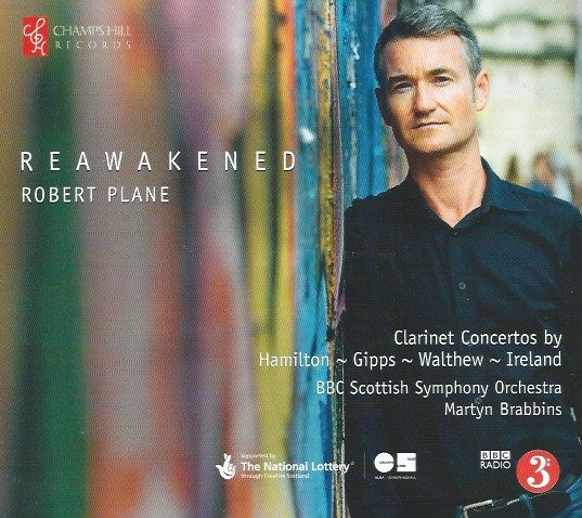 Reawakened: Clarinet Concertos from England and Scotland