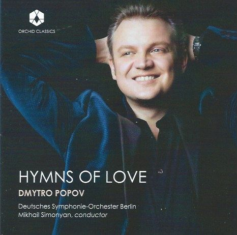 Hymns of Love: tenor Dmytro Popov's recital disc