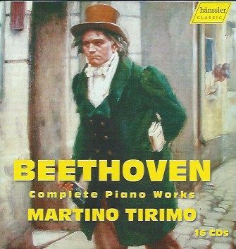 Conquering Everest: Complete Beethoven Solo Works from Martino Tirimo